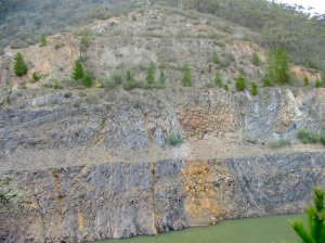 eildon sedimentary folding