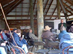 Euroa Arboretum pond talk