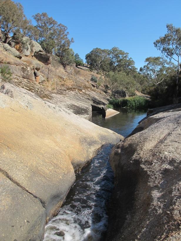 Hughes Creek waterfall at