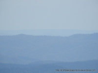 View due west of The Horn, perhaps the Strathbogie Plateau in the distance?