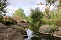 The rocky waterways