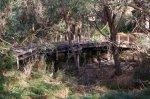 The iconic derelict bridge