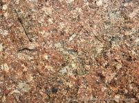 Cordierite-rich granite.