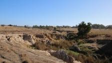 Heavy erosion