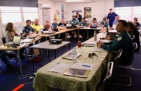 The classroom sessions were much more than simple instruction. A great deal of shared learning took place. Attendees included Ag Vic, Parks Vic, Contractors, Landcare facilitators / volunteers, Contractors and commercial planters