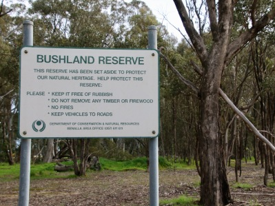 This Reserve is now managed by Parks Vic.