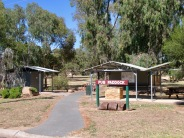 Amenities at the Pub Paddock parkland cater well for visitors. There are historic plaques, sheltered BBQ & picnic tables, seating, potable water, clean public toilets, info boards, even a BMX track.