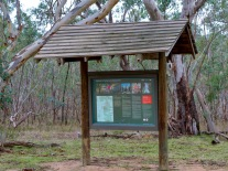 Throughout the nature trail informative local features are identified, described and discussed.